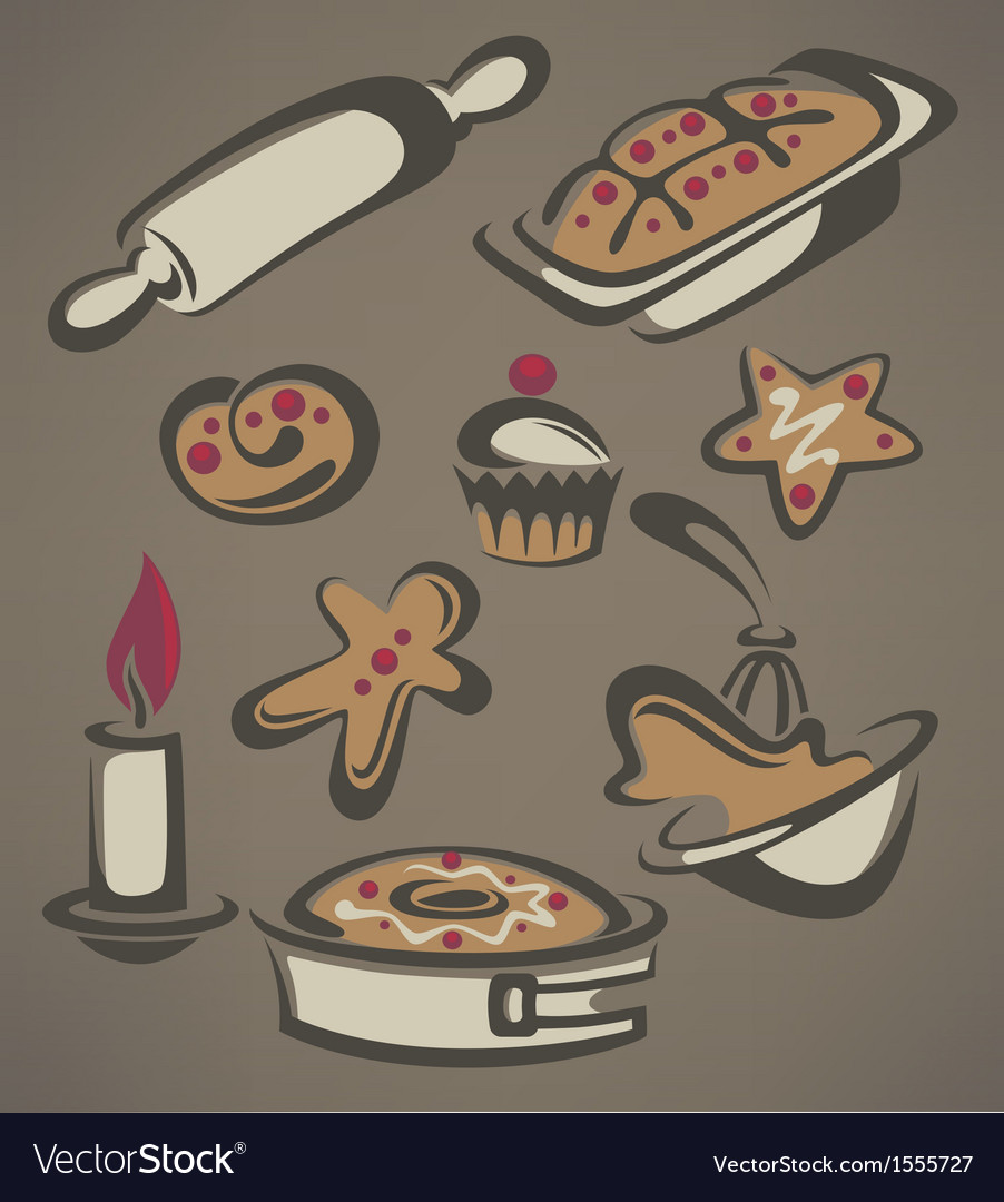 New year cooking vector | Price: 1 Credit (USD $1)