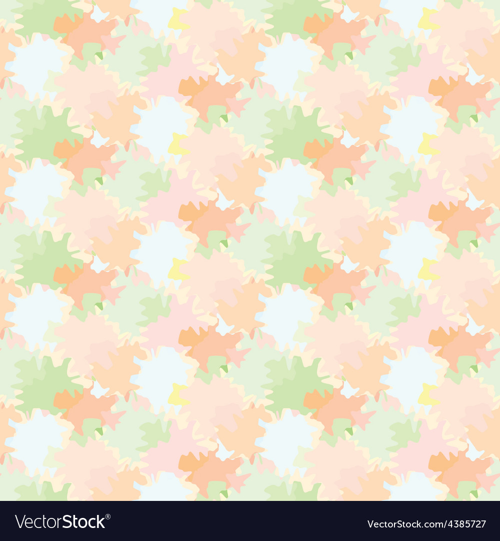 Seamless background with repetitive colored spots vector | Price: 1 Credit (USD $1)