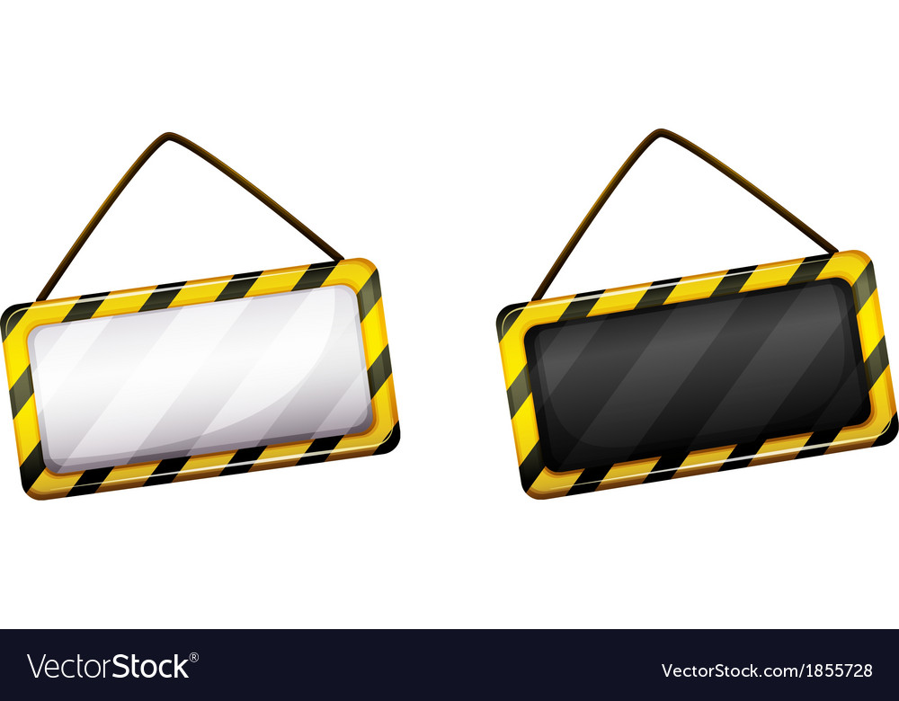 An under construction signboard vector | Price: 1 Credit (USD $1)