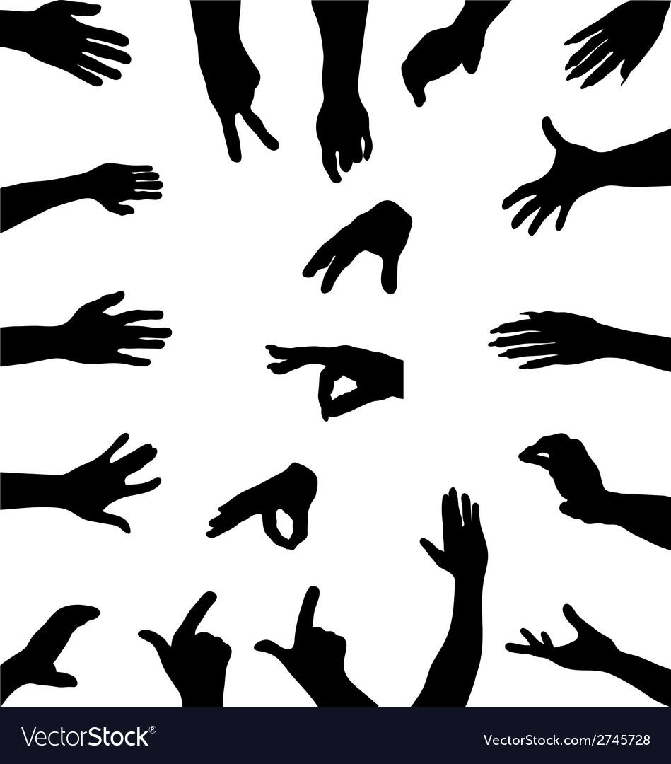 Hands vector | Price: 1 Credit (USD $1)