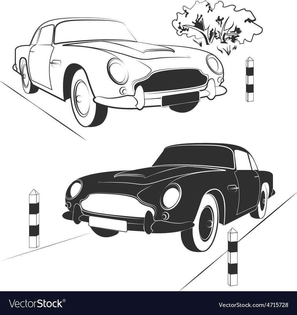 Set cars vector | Price: 1 Credit (USD $1)