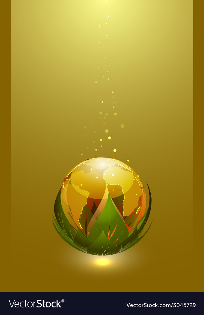 Earth globe icon vector | Price: 1 Credit (USD $1)