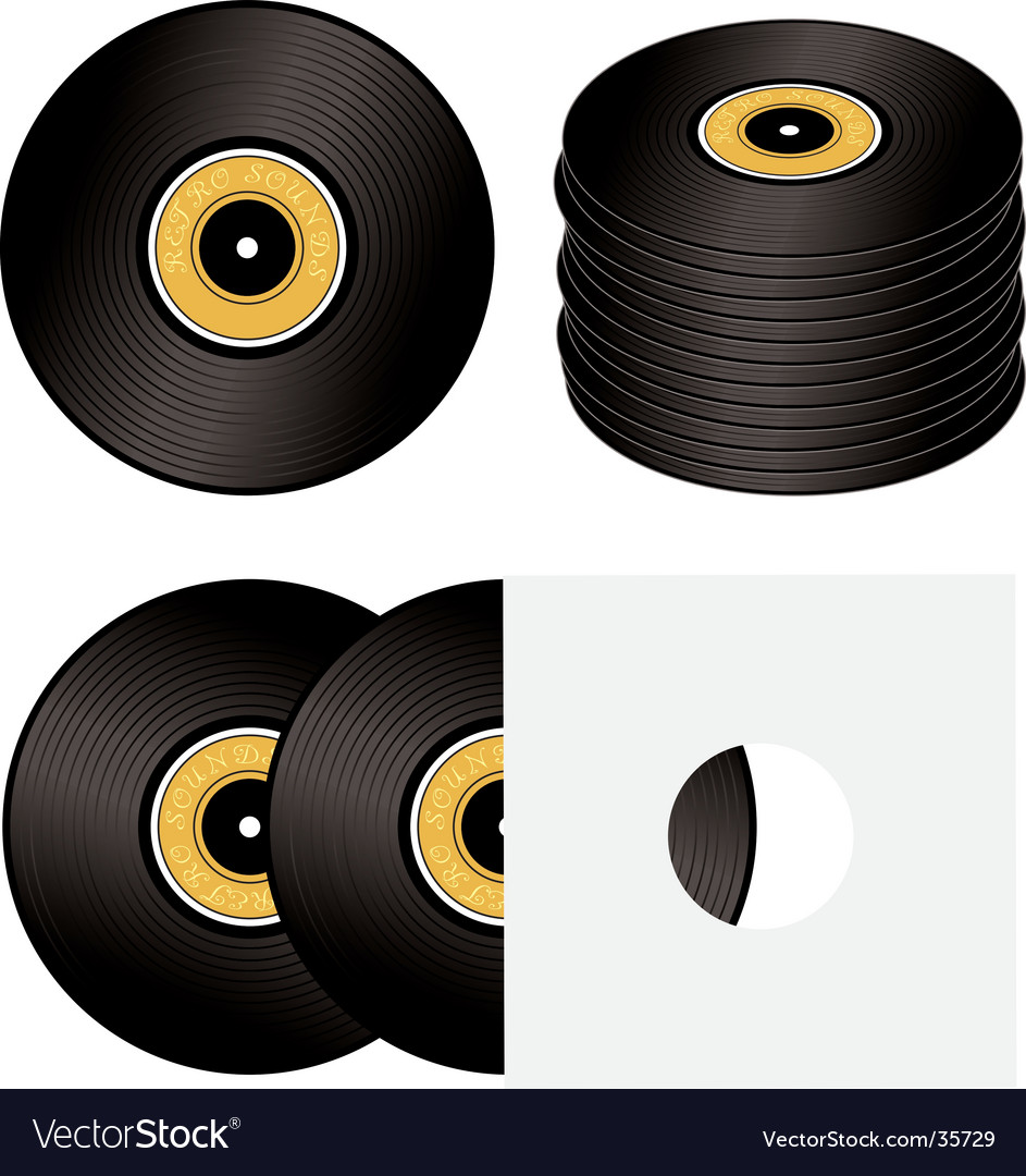 Record variation vector | Price: 1 Credit (USD $1)