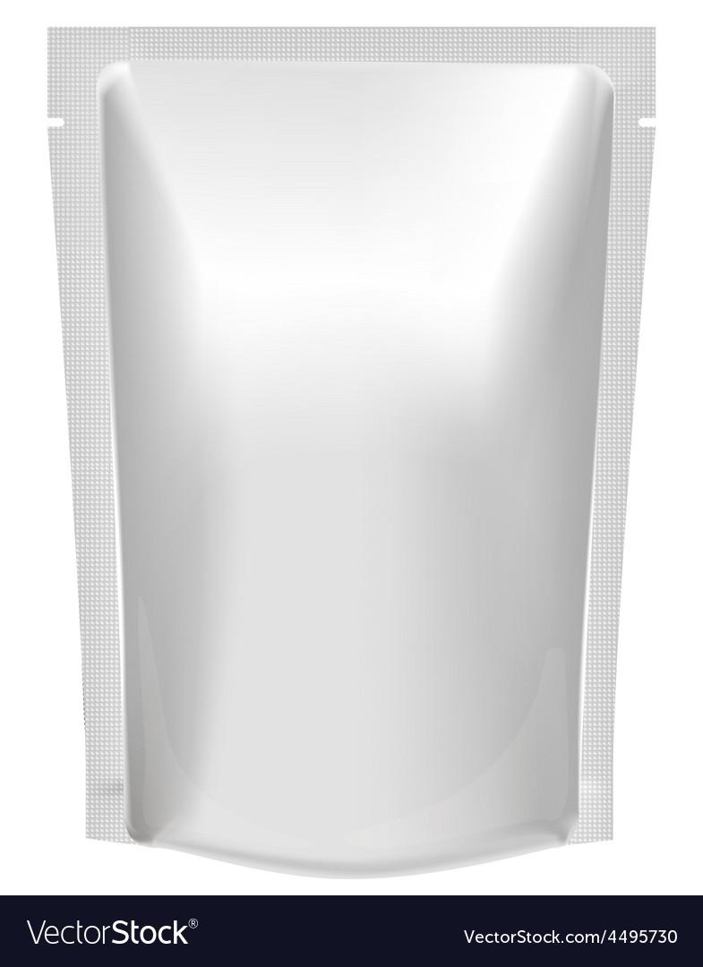 Mockup blank foil food or drink vector | Price: 1 Credit (USD $1)