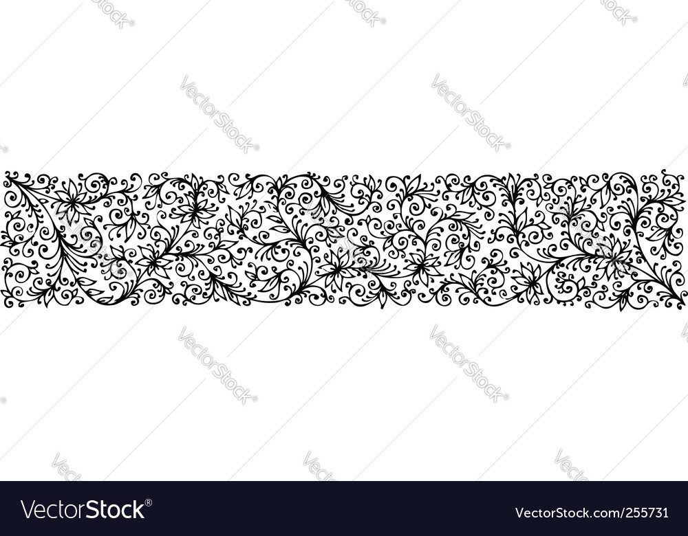 Floral texture cccv vector | Price: 1 Credit (USD $1)
