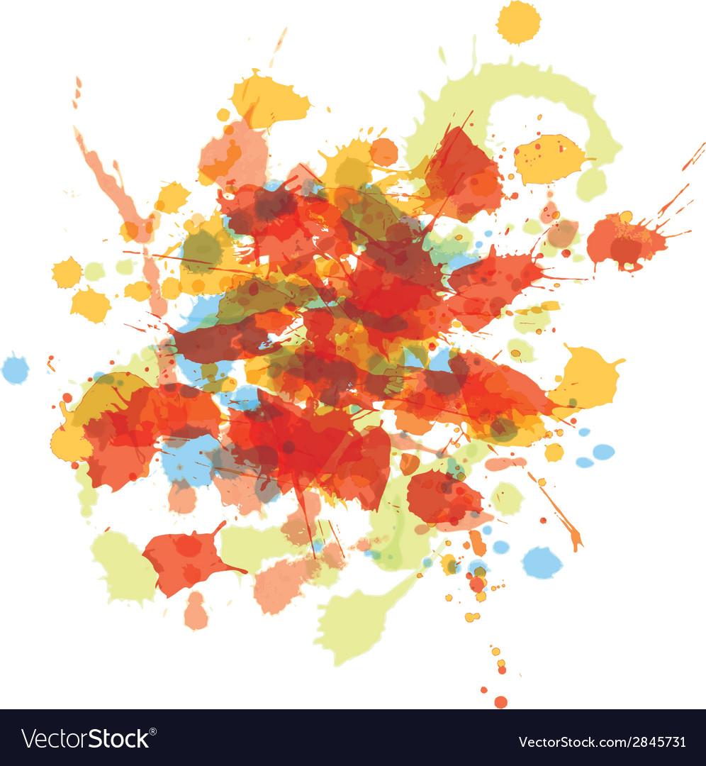 Watercolor splash vector | Price: 1 Credit (USD $1)