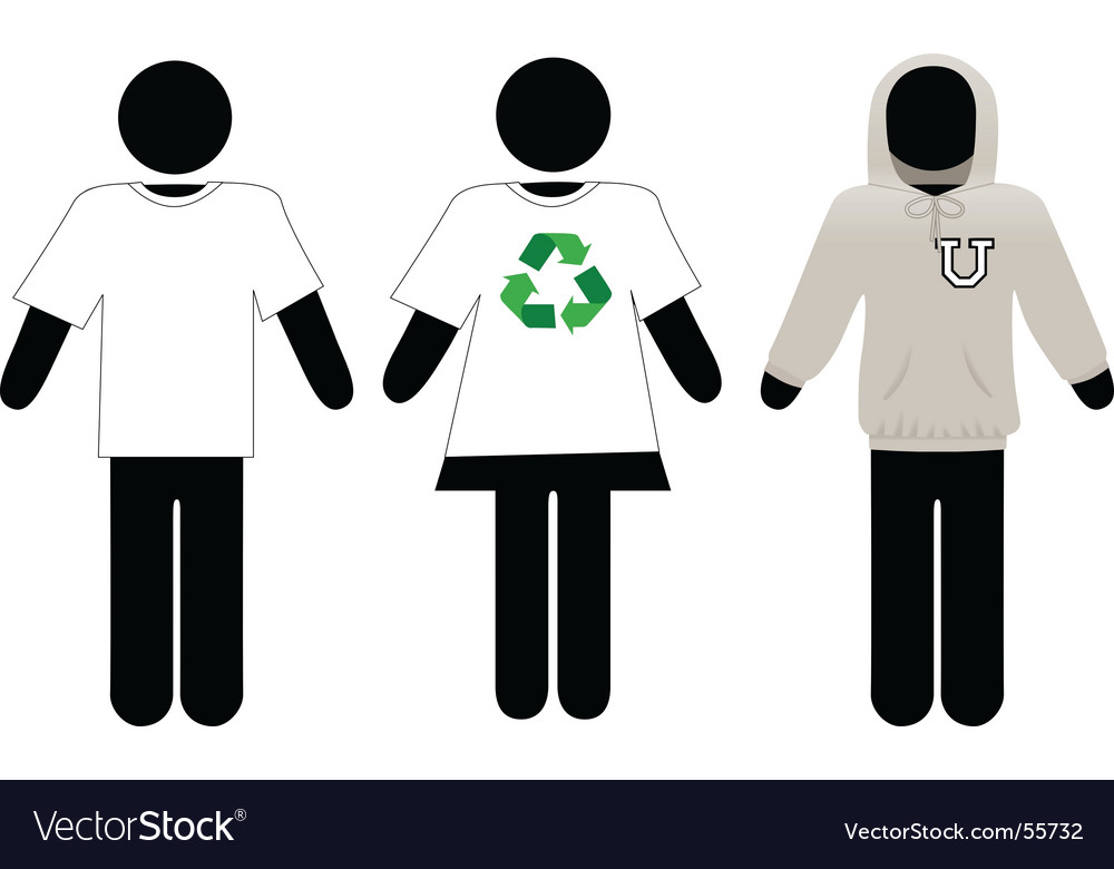 T-shirt hoodie sweatshirt templates vector | Price: 1 Credit (USD $1)