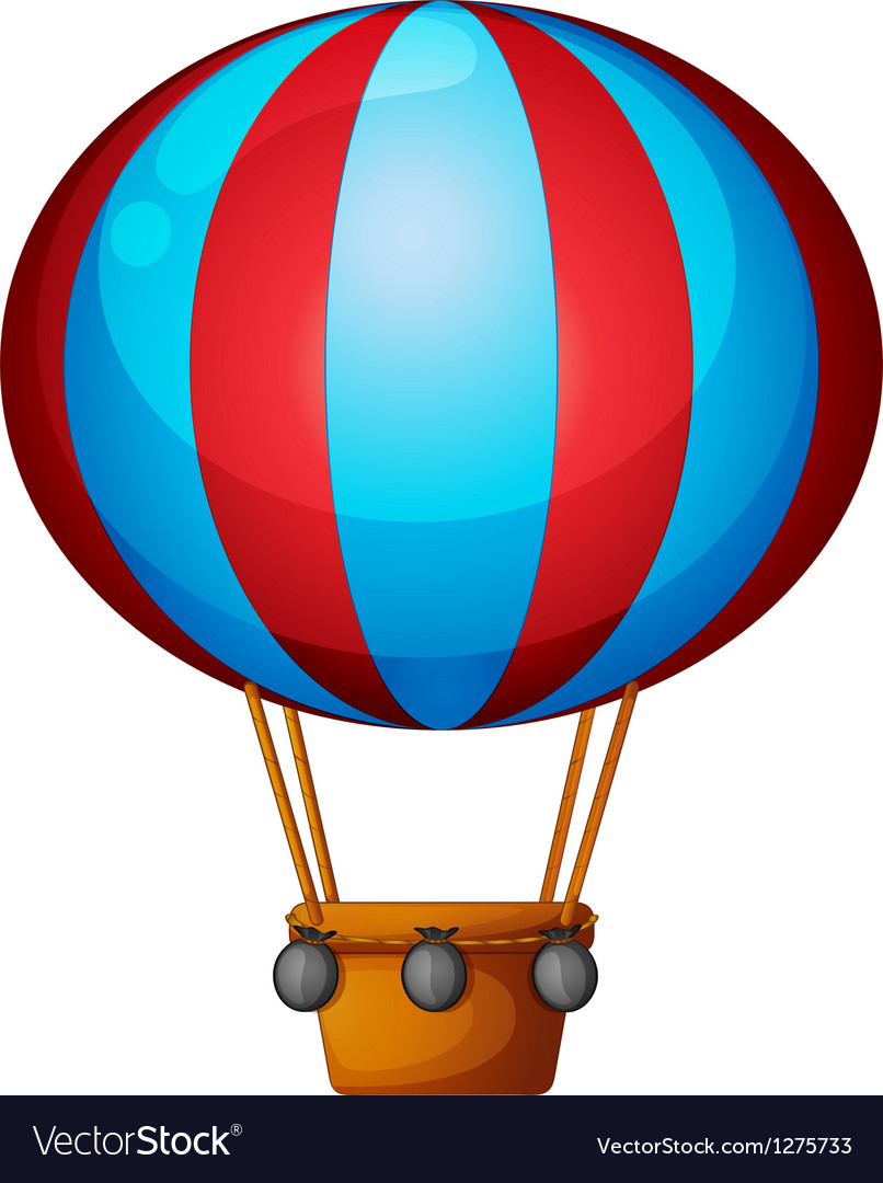 A hot air balloon vector   Price: 1 Credit (USD $1)