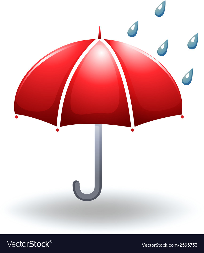 A rainy weather vector | Price: 1 Credit (USD $1)
