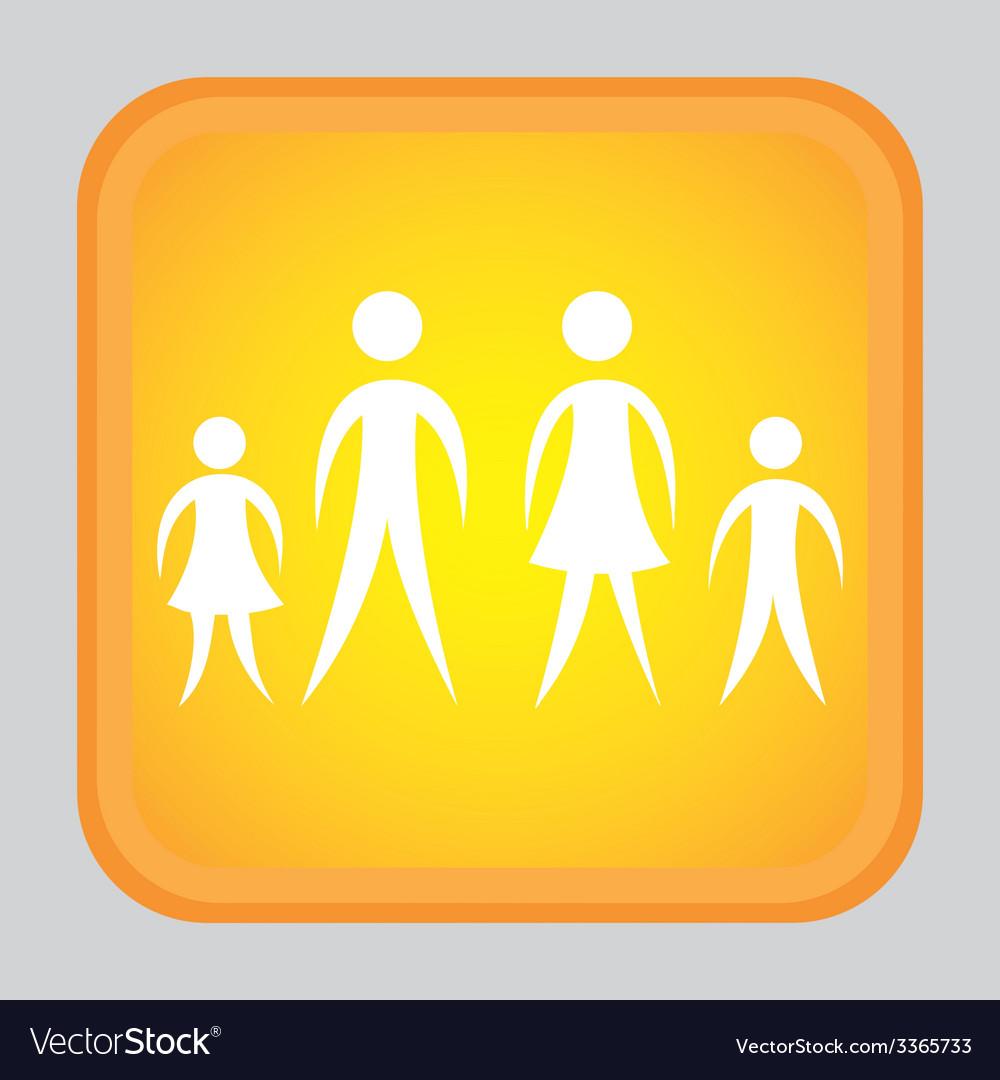 Human silhouette design vector | Price: 1 Credit (USD $1)