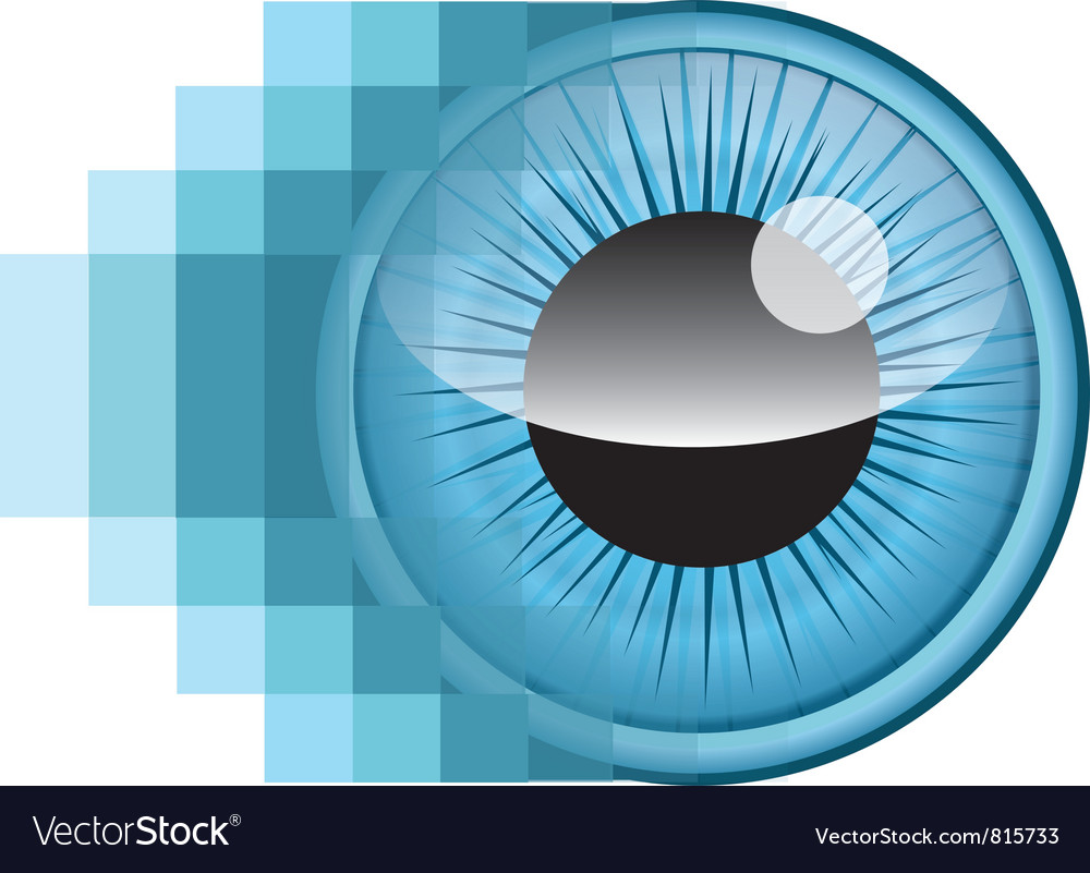 Pixel eye vector | Price: 1 Credit (USD $1)