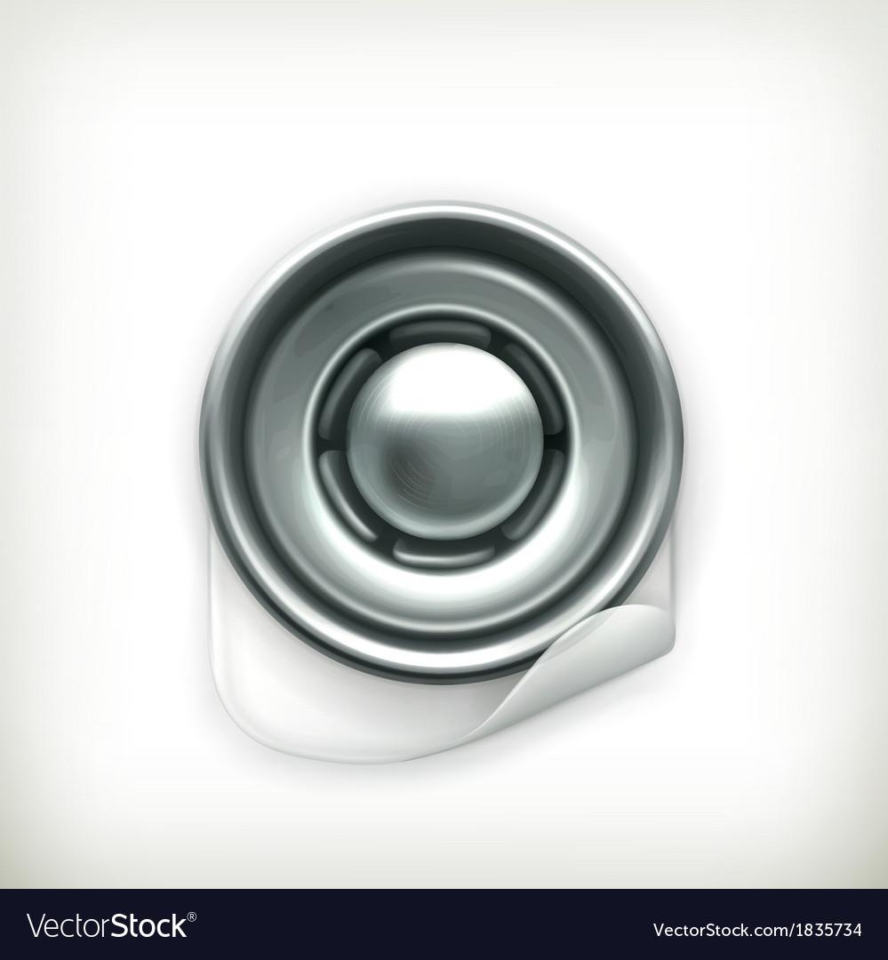 Snap fastener icon vector   Price: 1 Credit (USD $1)