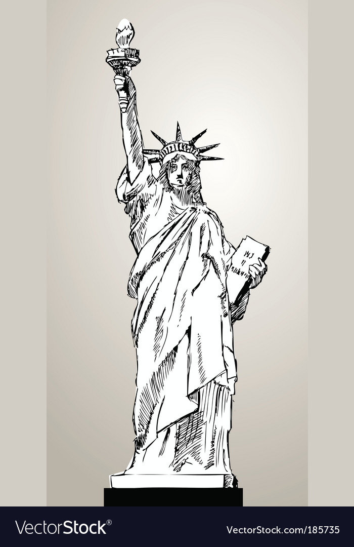 Liberty status vector | Price: 1 Credit (USD $1)