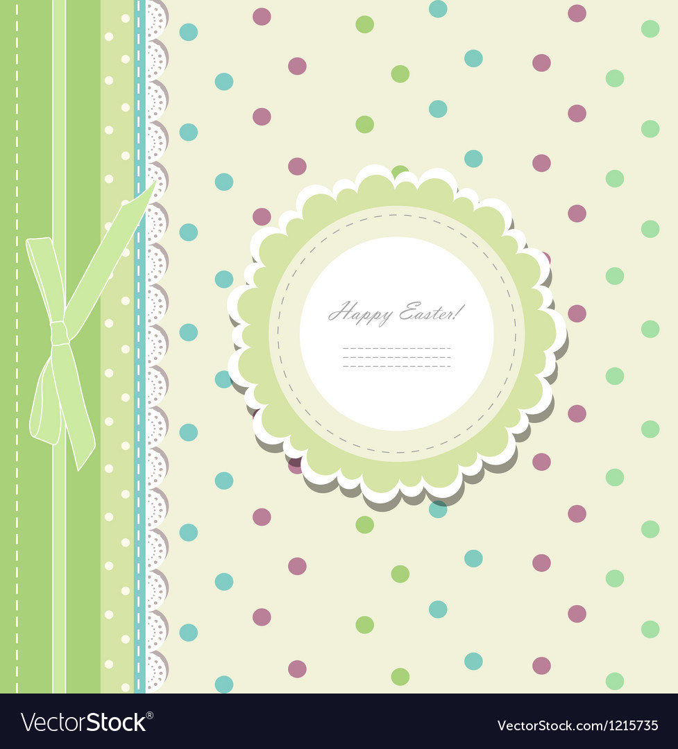 Vintage baby shower album vector | Price: 1 Credit (USD $1)