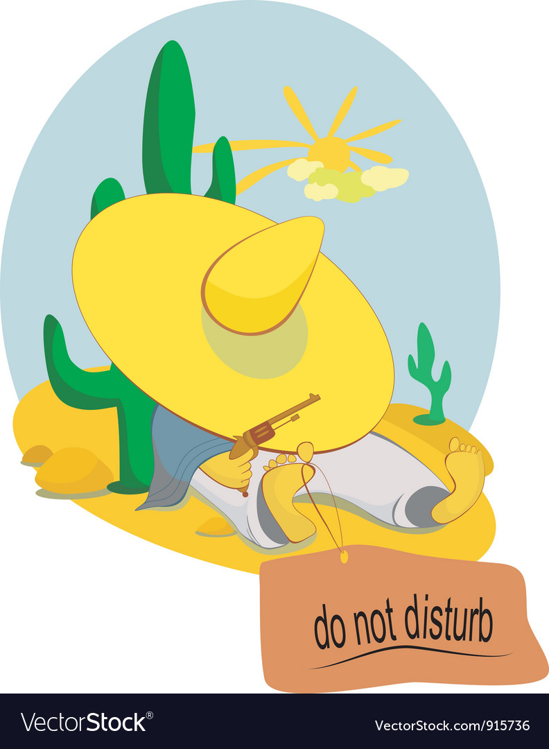 Do not disturb vector | Price: 3 Credit (USD $3)