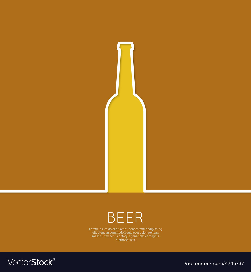 Abstract background with beer glass vector | Price: 1 Credit (USD $1)