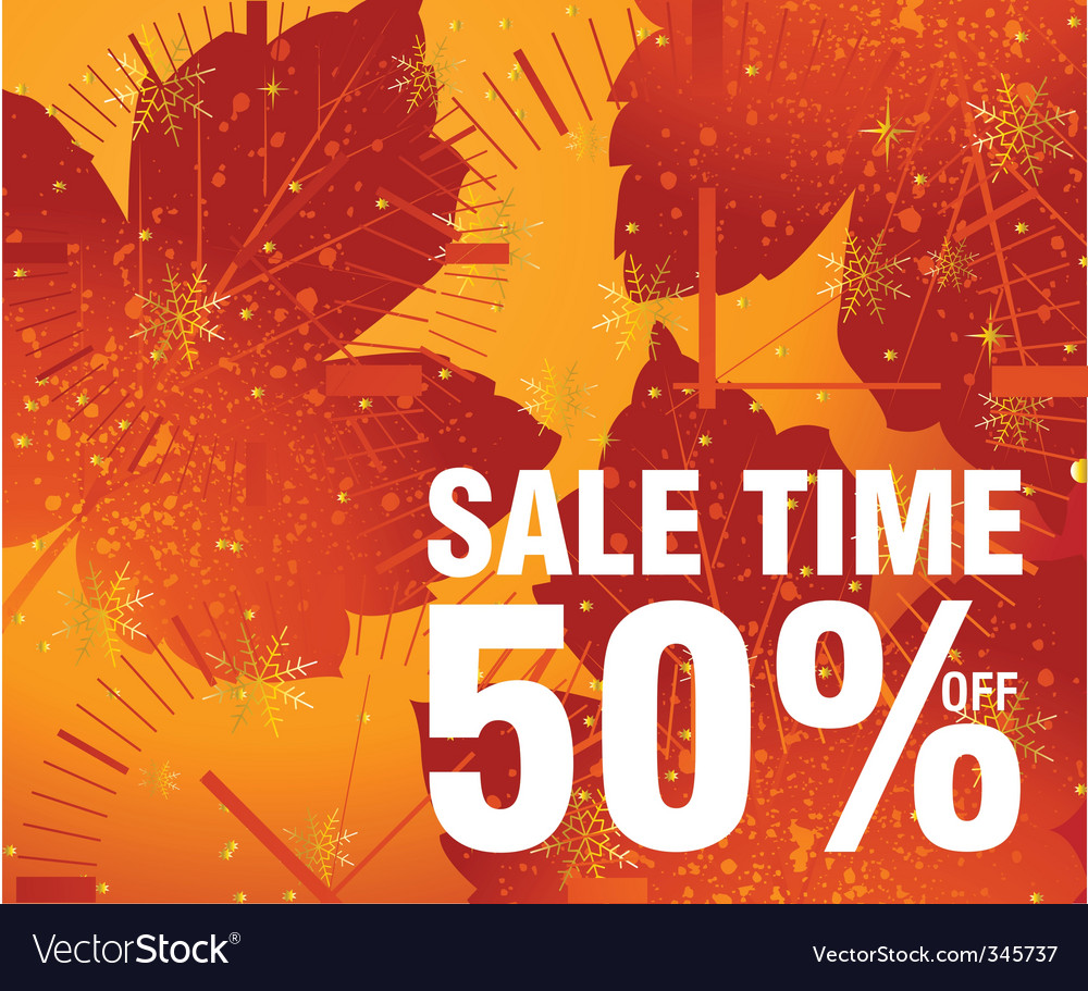 Sales and discount concept illustration vector | Price: 1 Credit (USD $1)
