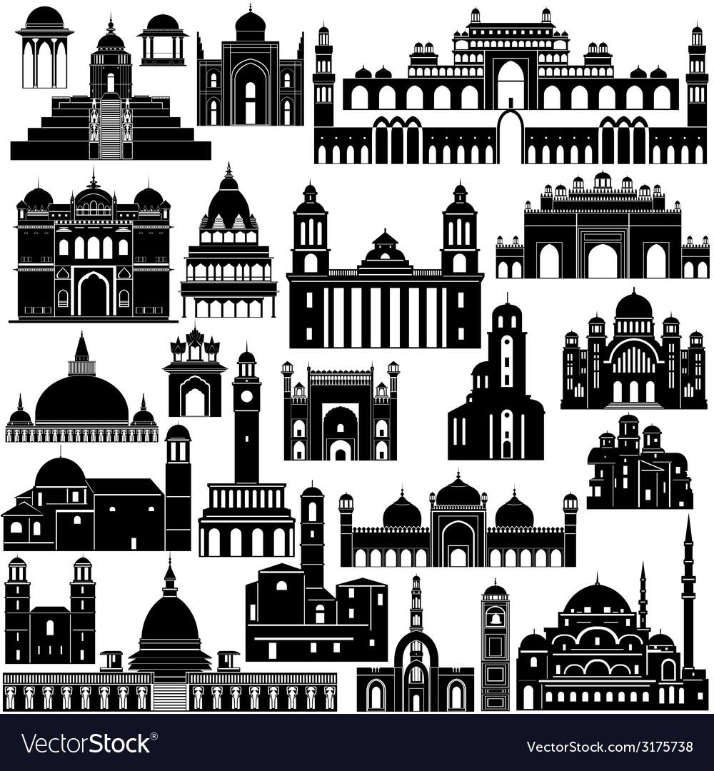 Architecture asia vector | Price: 1 Credit (USD $1)