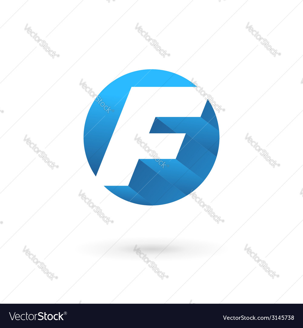 Letter f logo icon vector   Price: 1 Credit (USD $1)