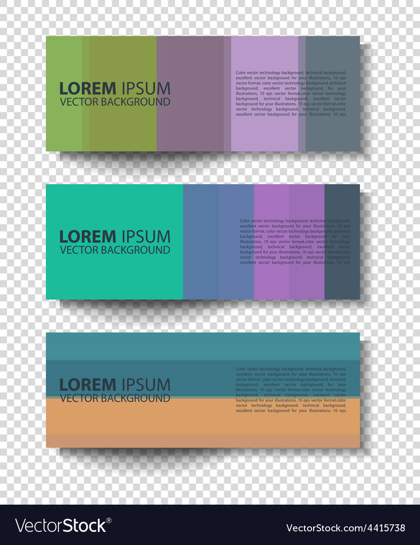 Textural banners in grunge style vector | Price: 1 Credit (USD $1)