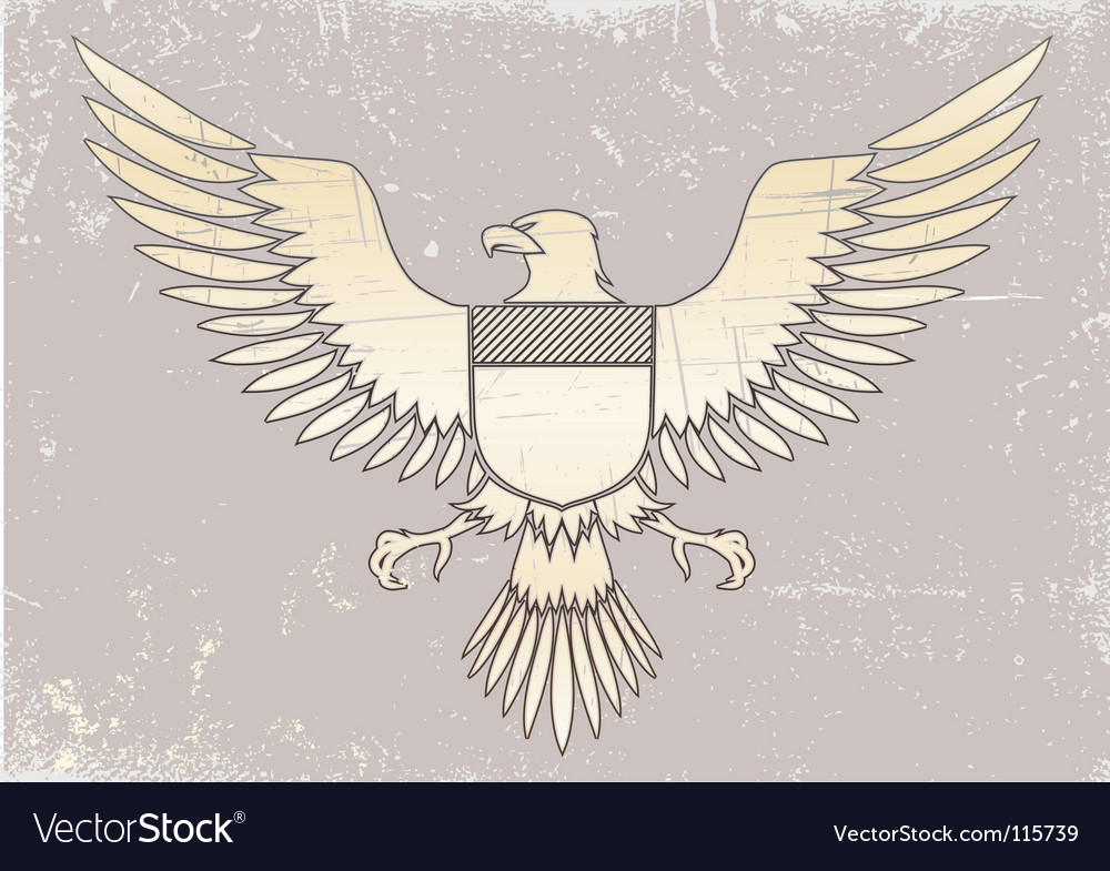 Medieval eagle vector | Price: 1 Credit (USD $1)