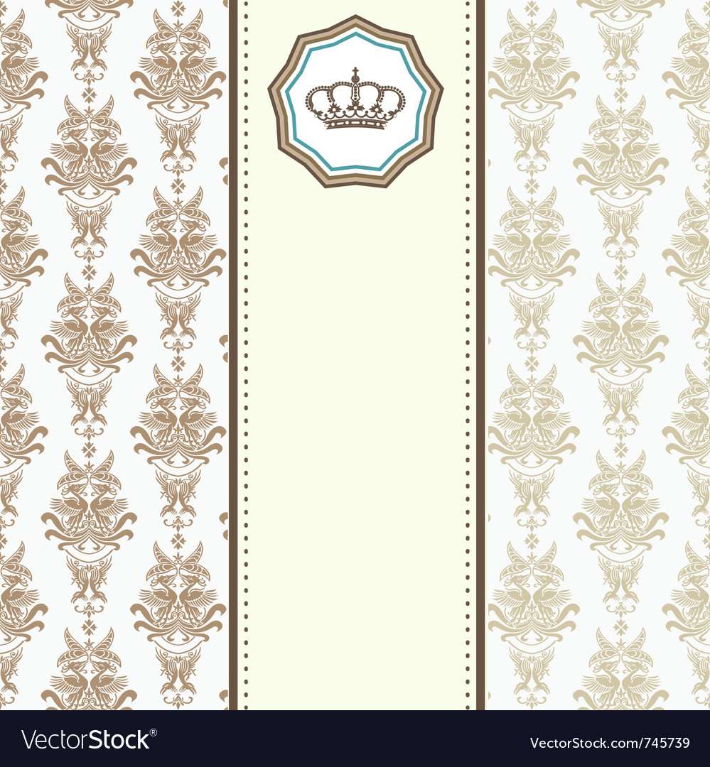 Royal card vector | Price: 1 Credit (USD $1)