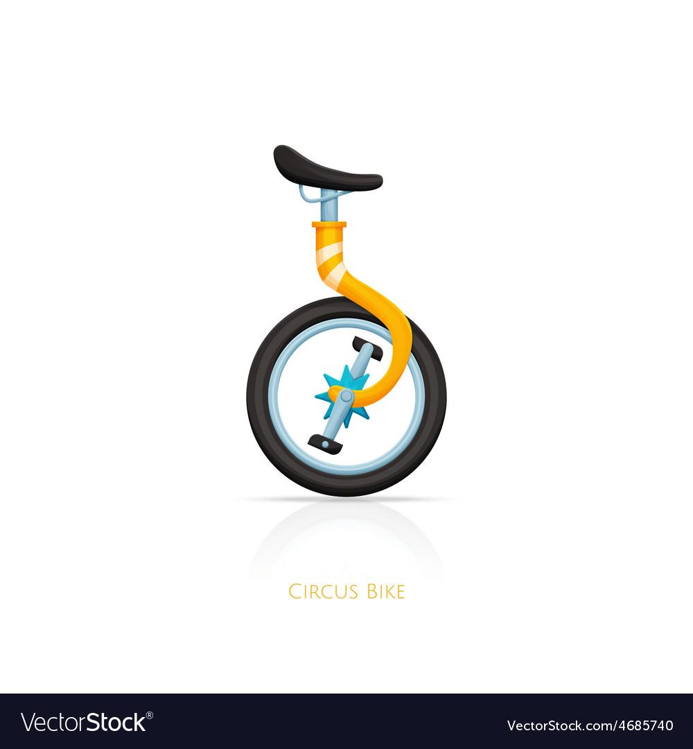 Circus bike vector | Price: 1 Credit (USD $1)