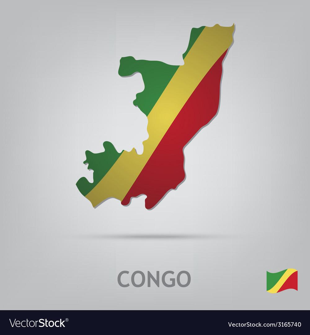 Country congo vector   Price: 1 Credit (USD $1)