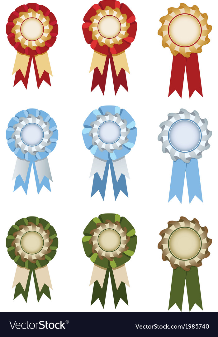 Set of rosettes vector | Price: 1 Credit (USD $1)