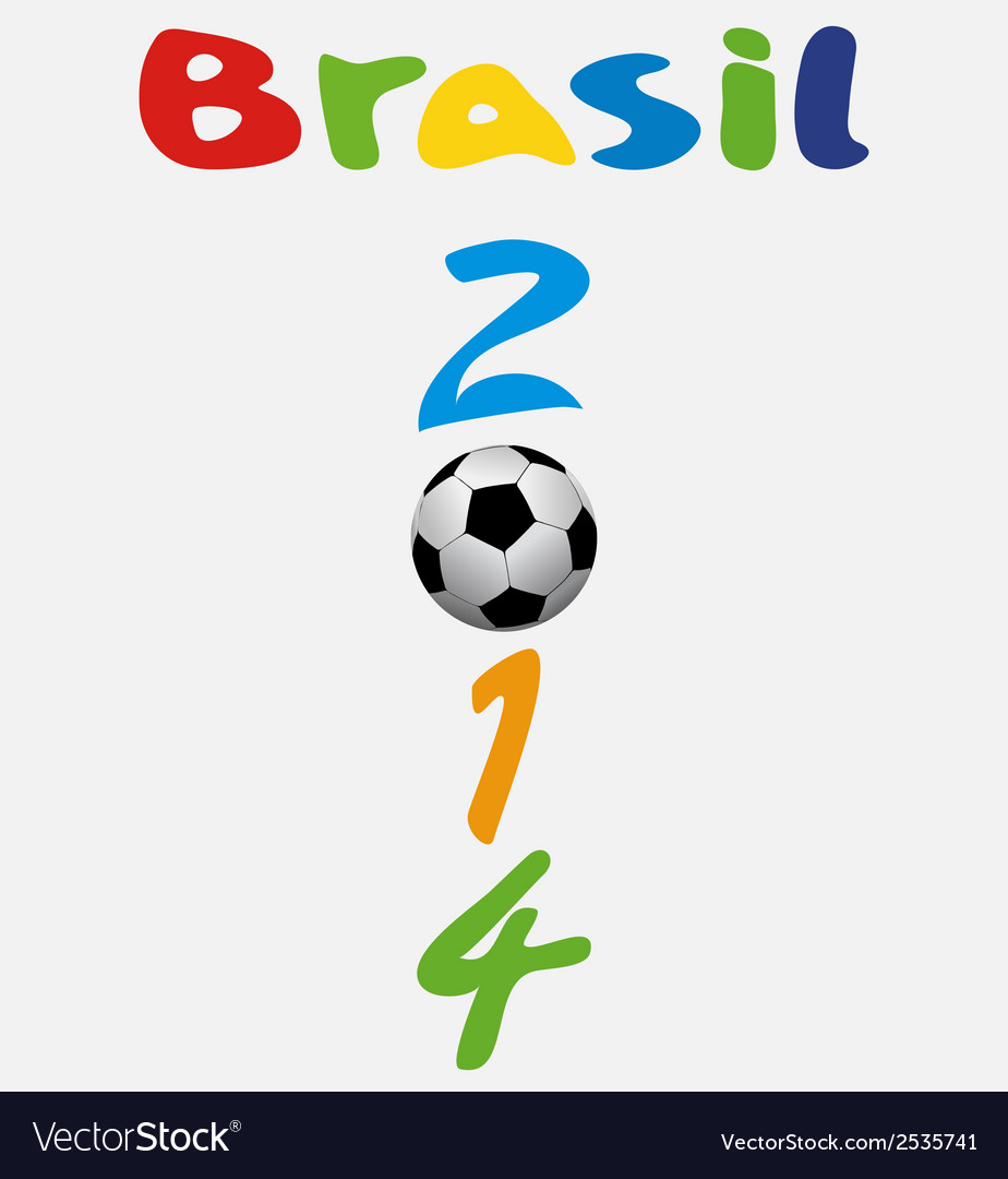 Brasil 2014 vector | Price: 1 Credit (USD $1)