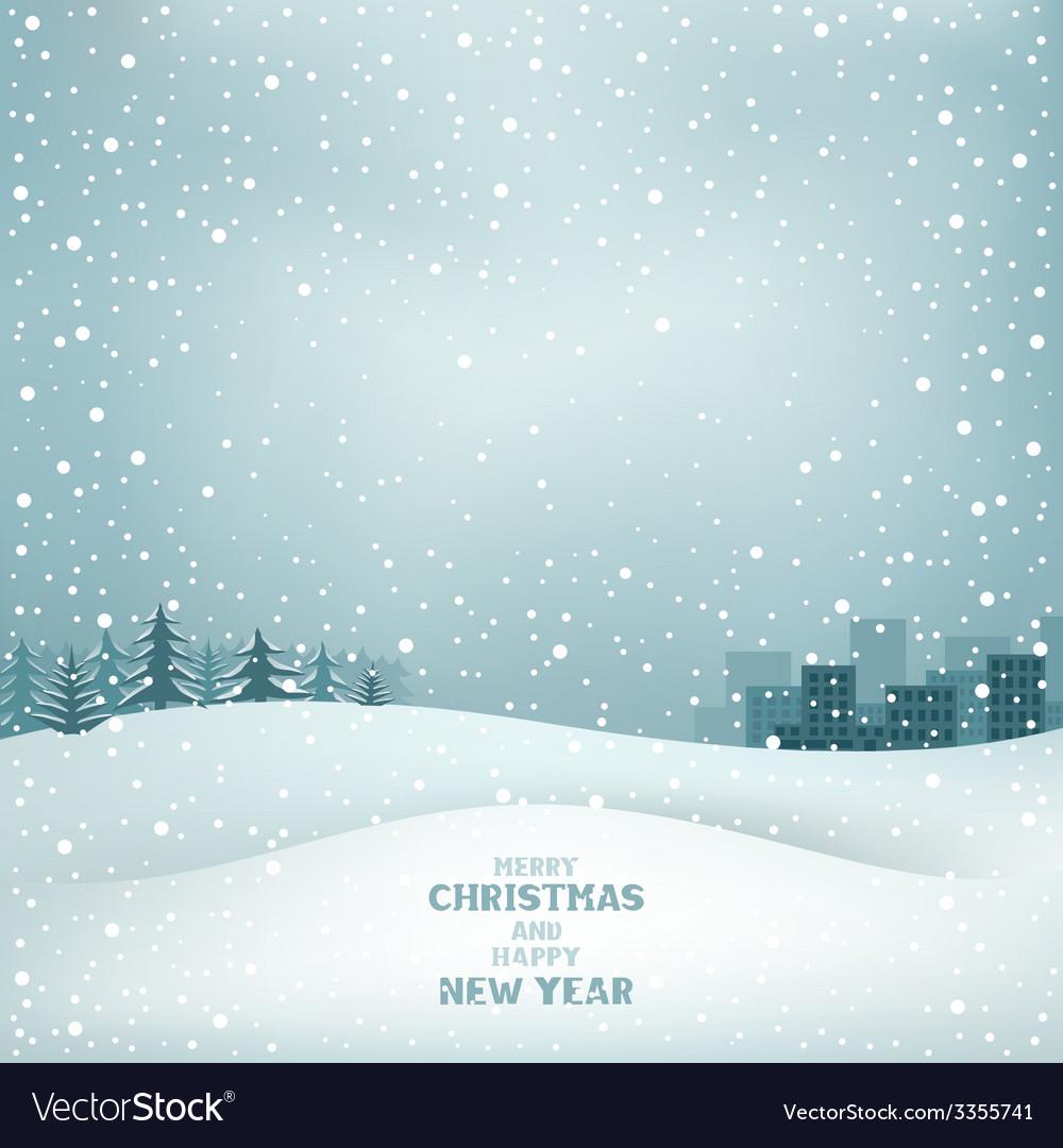 Christmas winter vector | Price: 1 Credit (USD $1)