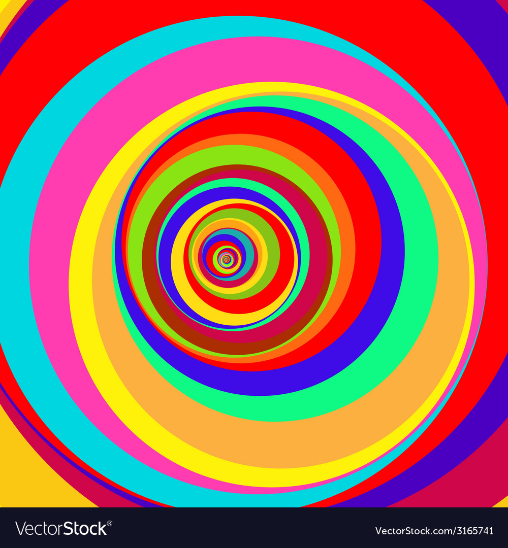 Colorful abstract psychedelic art background vector   Price: 1 Credit (USD $1)