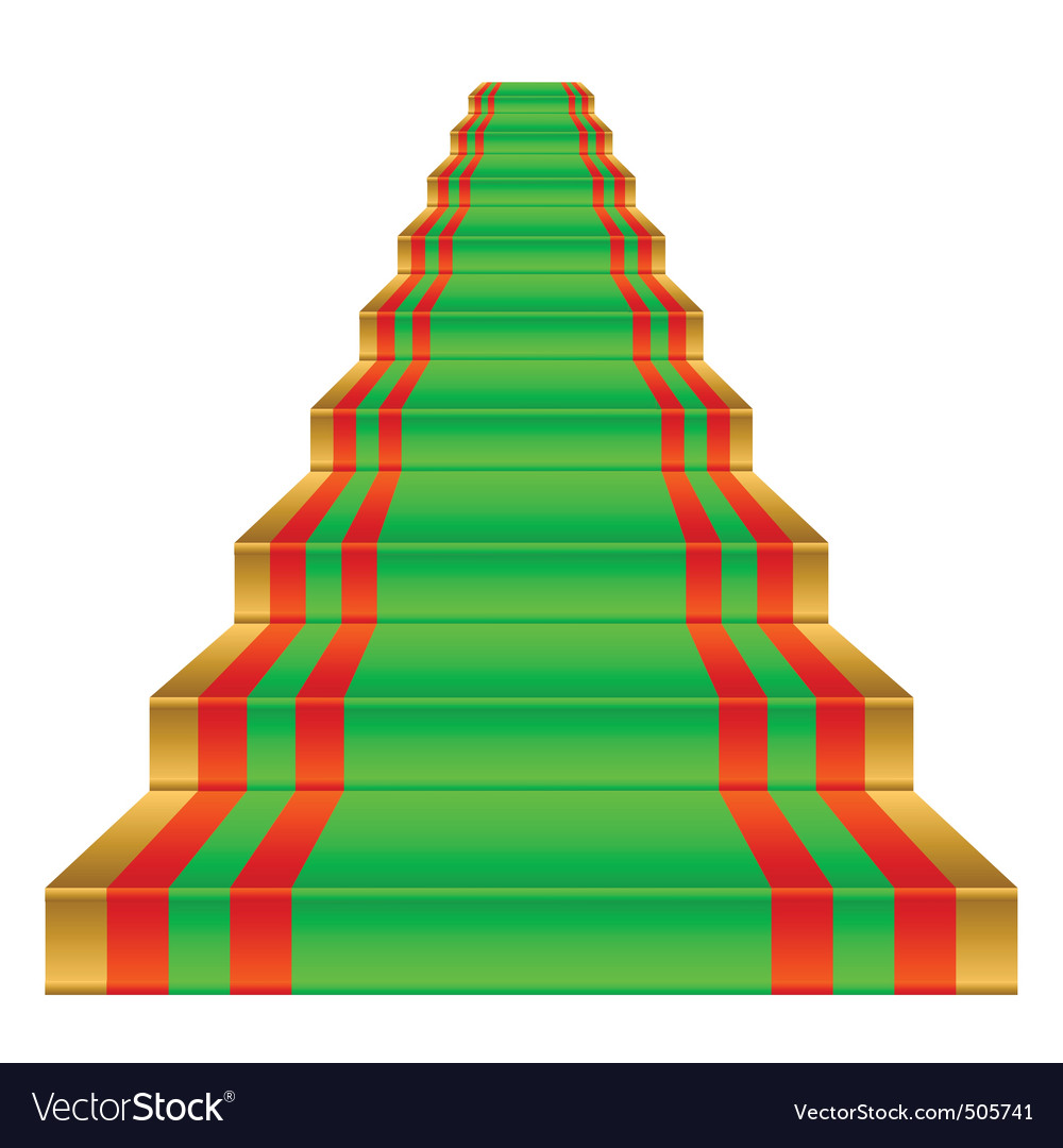 Gold ladder vector | Price: 1 Credit (USD $1)