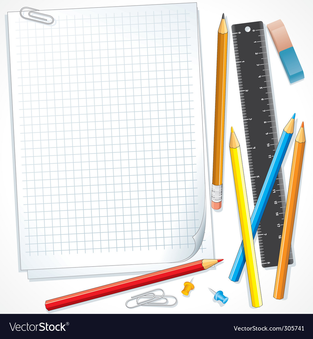 Stationery vector | Price: 3 Credit (USD $3)