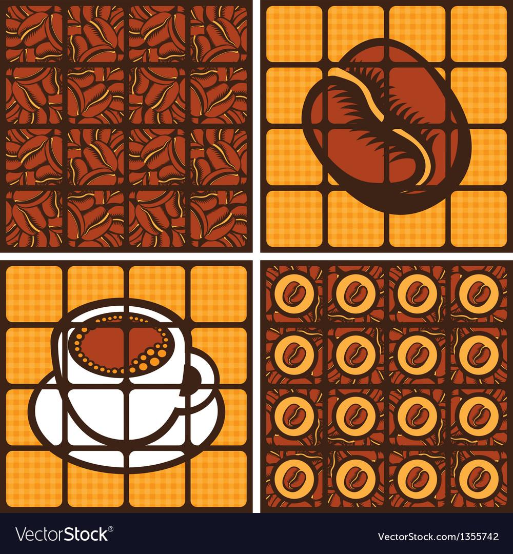 Coffee grains vector | Price: 1 Credit (USD $1)
