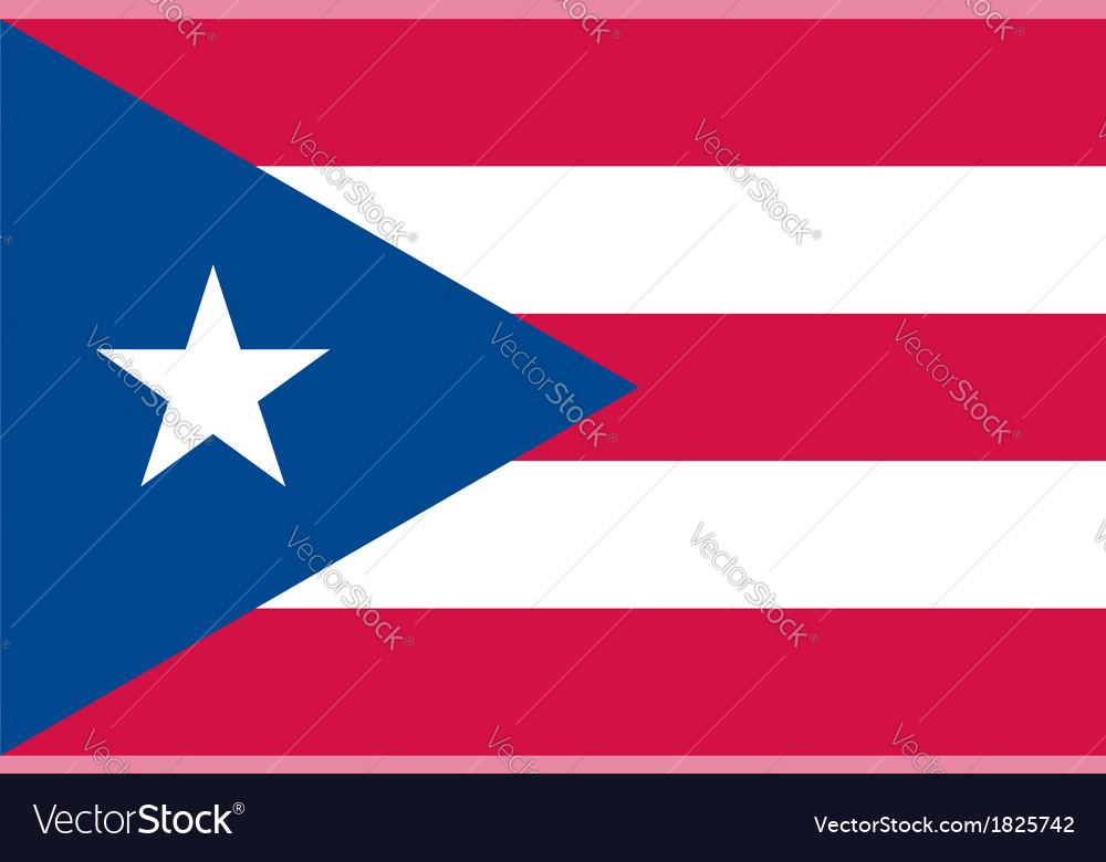 Puerto rico flag vector   Price: 1 Credit (USD $1)