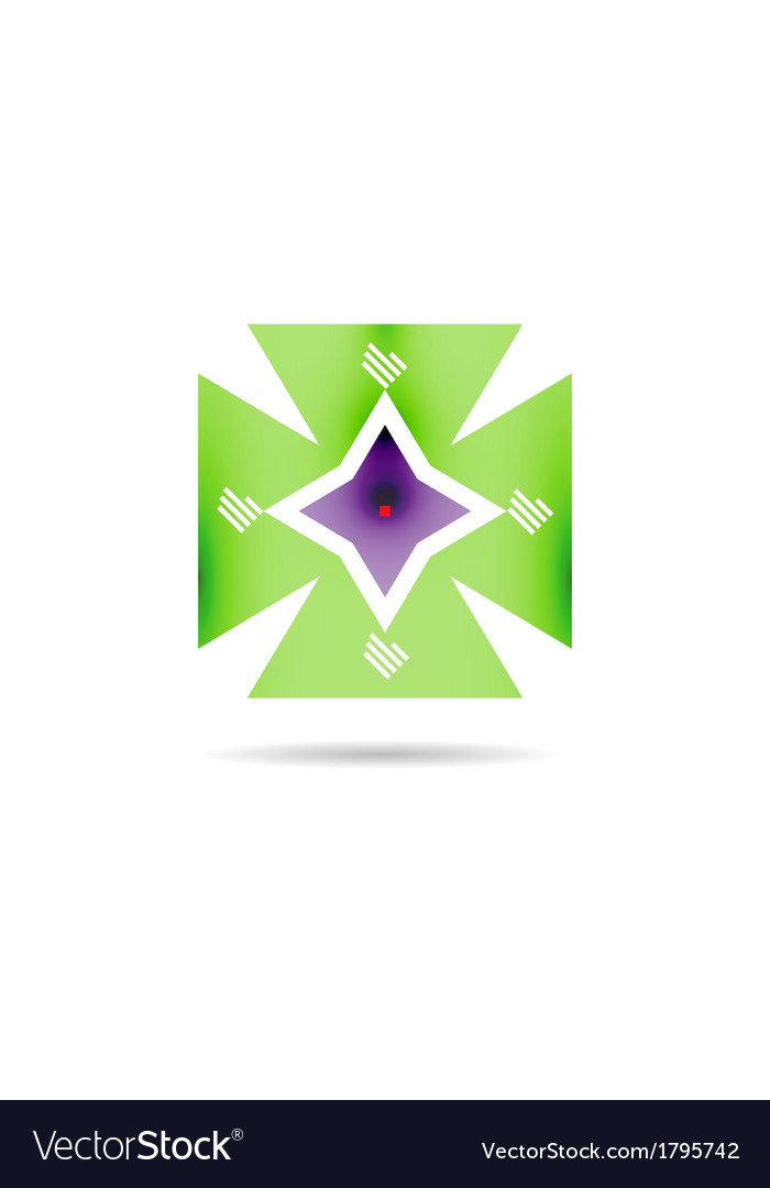 Retro vintage geometric shape infographic vector | Price: 1 Credit (USD $1)