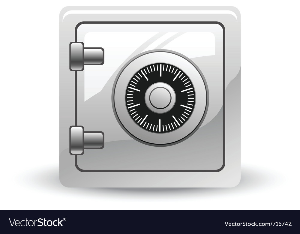 Safe vector | Price: 3 Credit (USD $3)