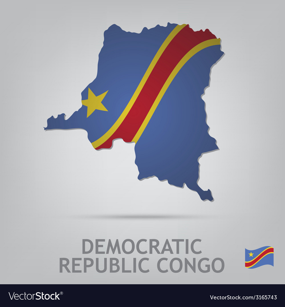 Democratic republic congo vector | Price: 1 Credit (USD $1)