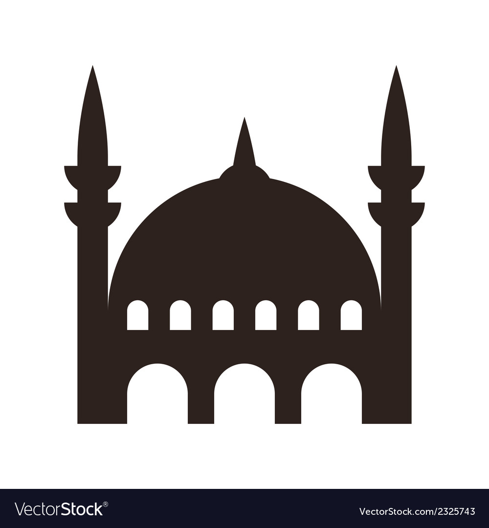 Mosque icon vector | Price: 1 Credit (USD $1)
