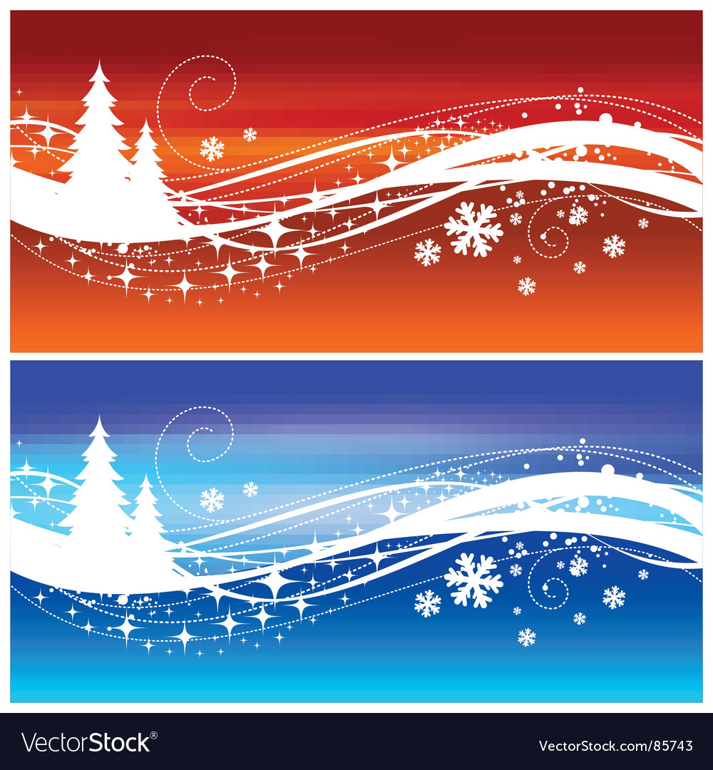 Winter wave vector | Price: 1 Credit (USD $1)