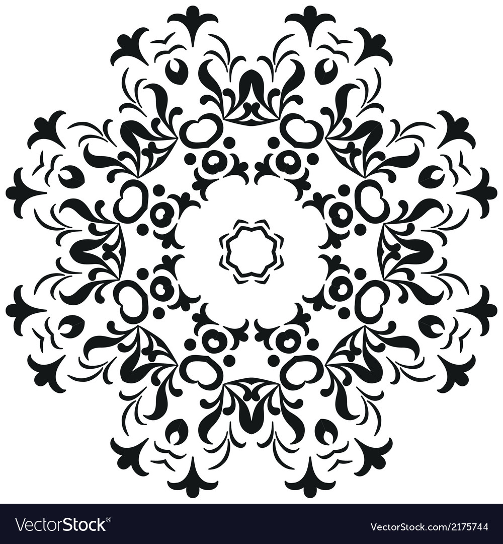 Abstract contour pattern vector | Price: 1 Credit (USD $1)