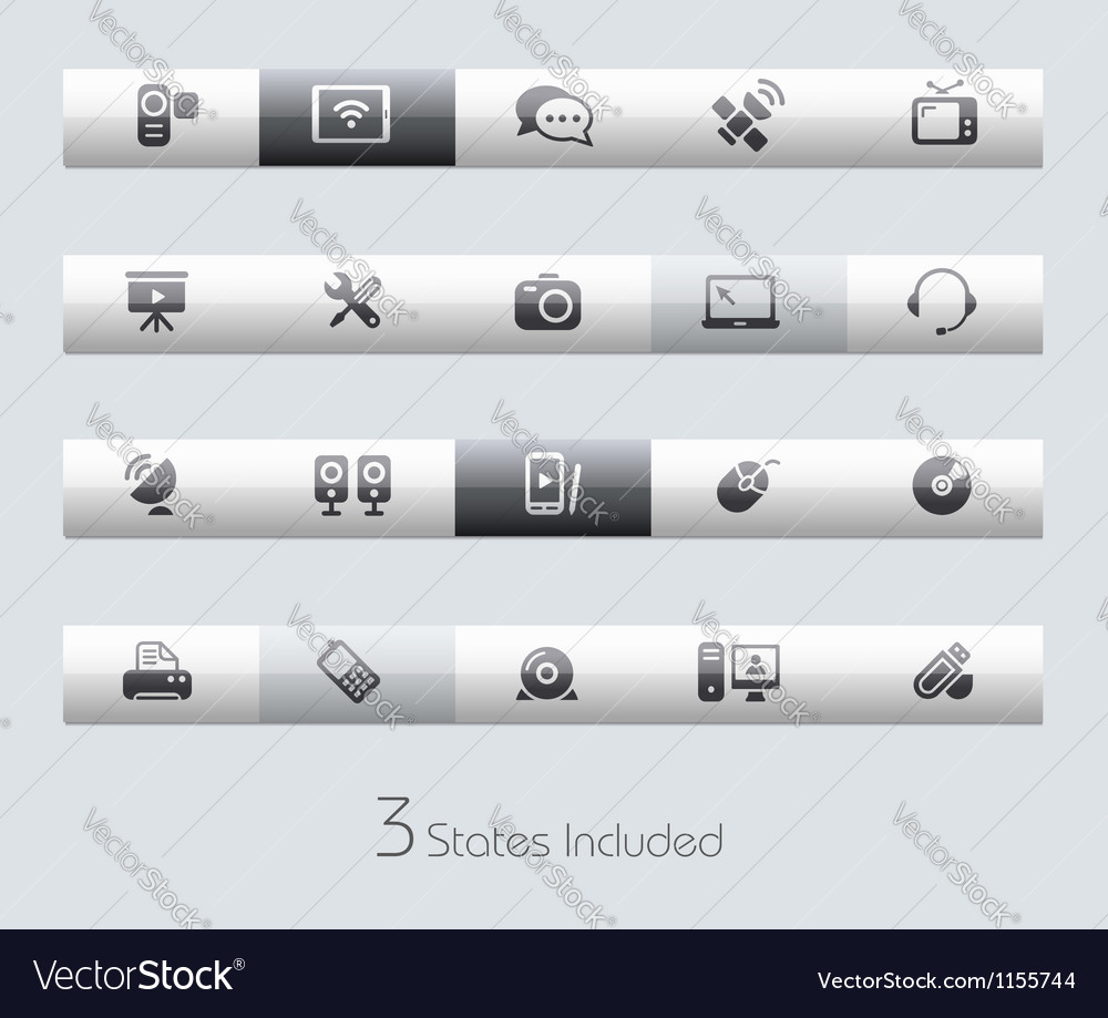 Communications classic bar series vector   Price: 1 Credit (USD $1)
