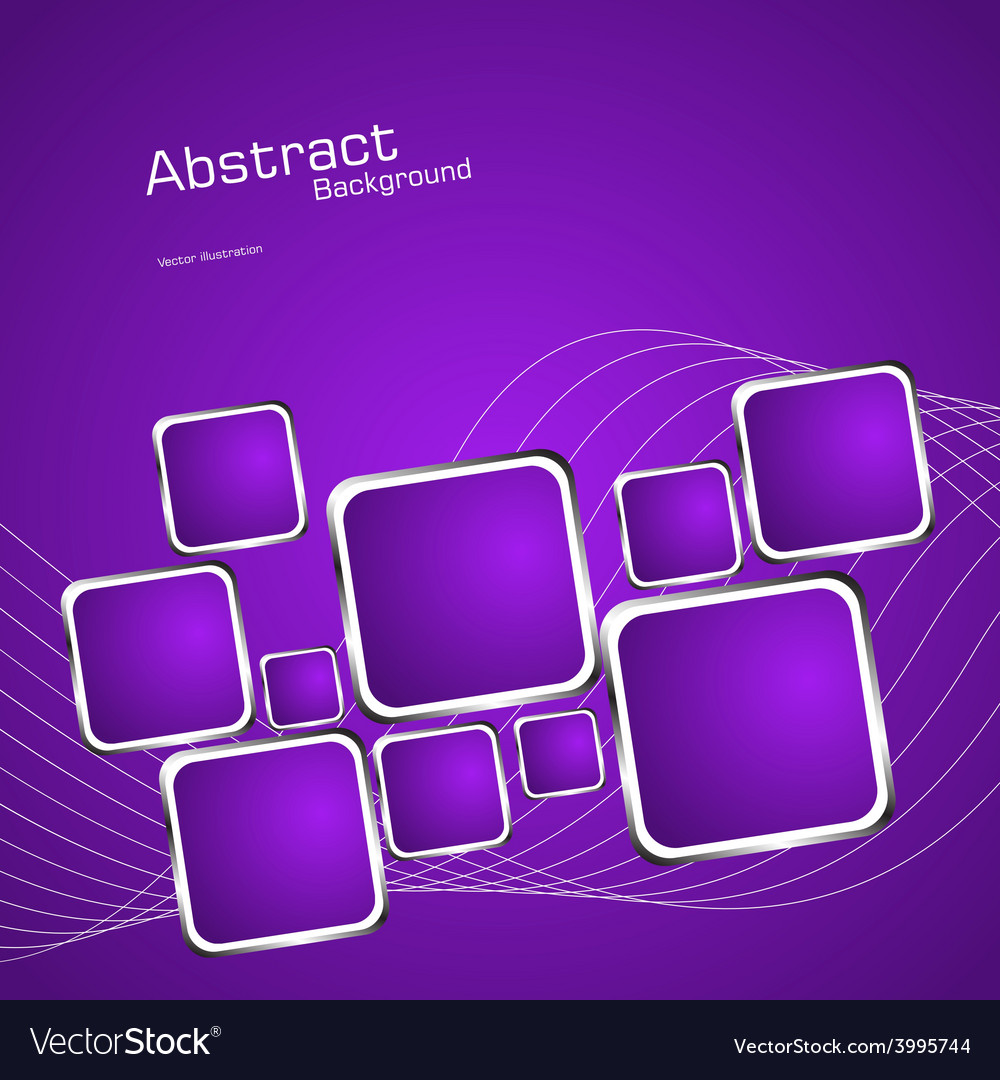 Square violet background vector   Price: 1 Credit (USD $1)