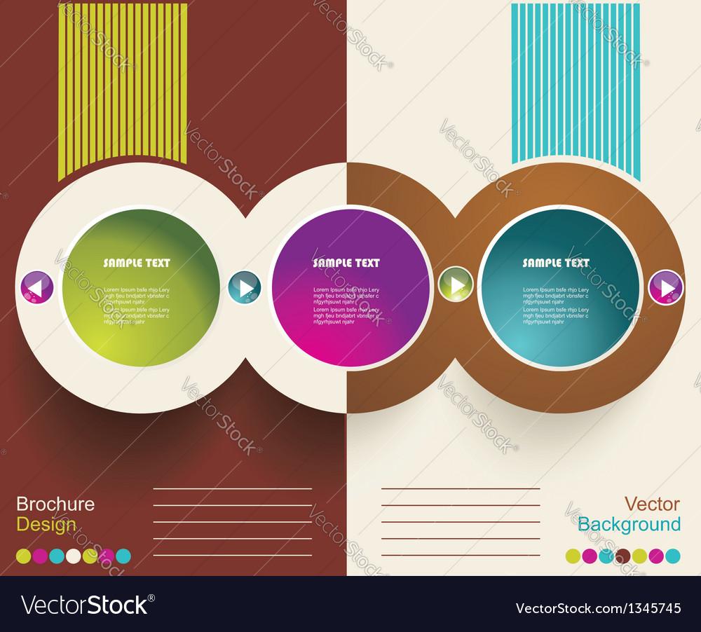 Brochure design vector | Price: 1 Credit (USD $1)