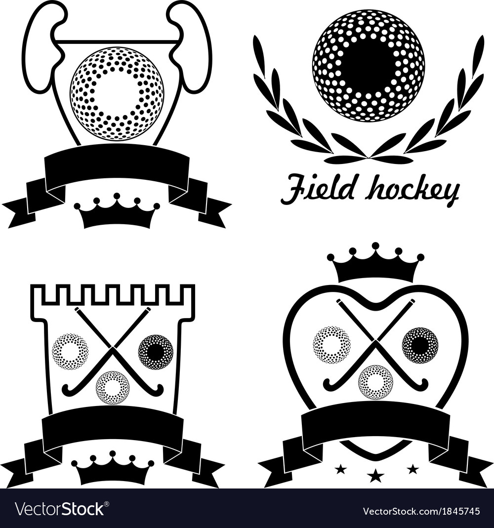 Field hockey vector | Price: 1 Credit (USD $1)