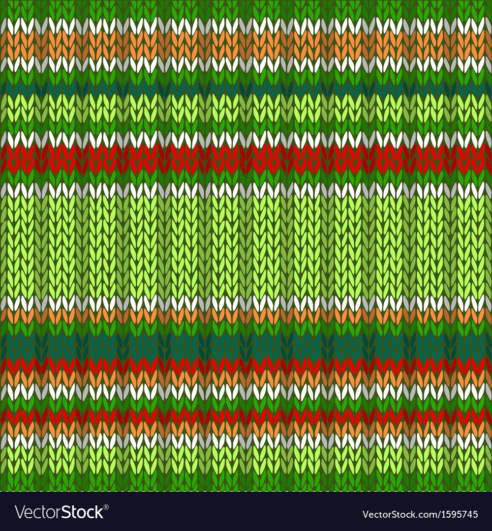 Knit woolen seamless jacquard ornament texture vector   Price: 1 Credit (USD $1)