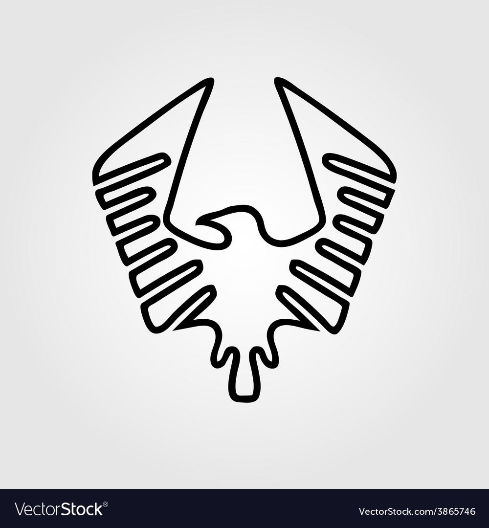 Eagle symbol - vector | Price: 1 Credit (USD $1)