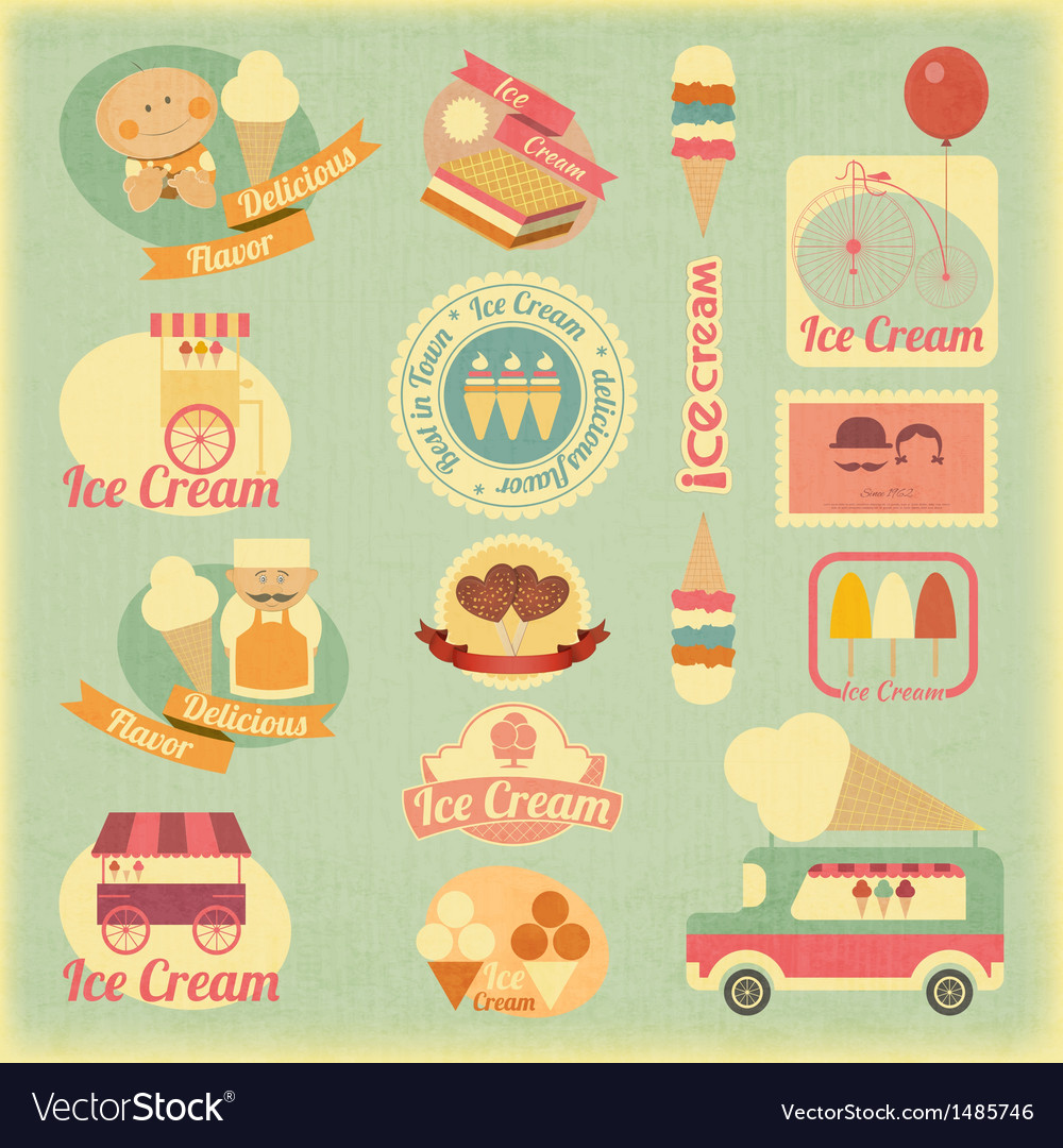 Ice cream vector | Price: 3 Credit (USD $3)