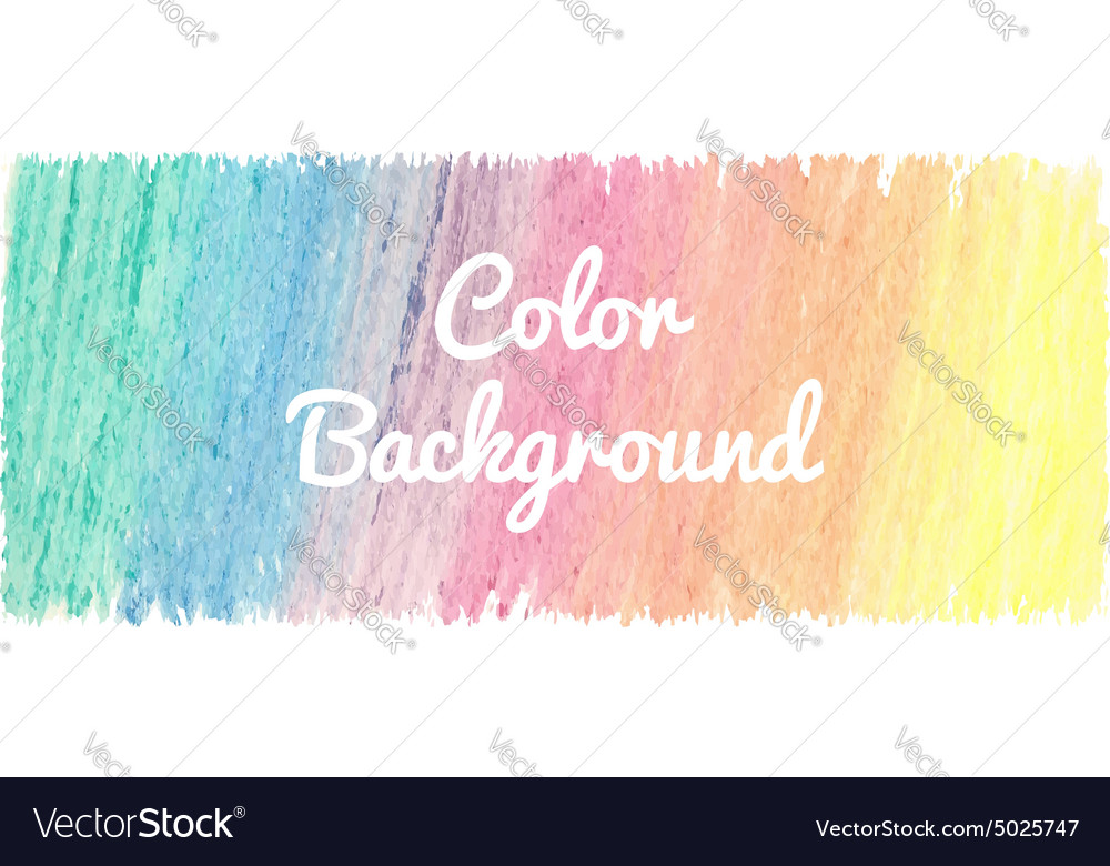 Bright abstract template with watercolor spot and vector